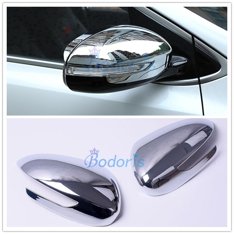 Side Wing Door Mirror Cover Rear View Overlay Chrome Car Styling 2016 2017 2018 For Kia Sportage KX5 QL Accessories image