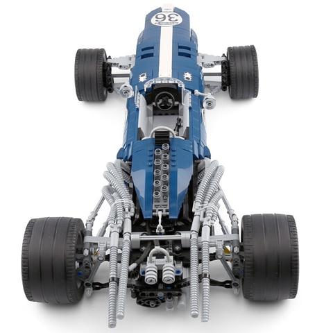 f1 carro de corrida blocos construcao tijolos