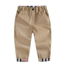 Одежда для детей осень-зима г. Новые Хлопковые Штаны для больших мальчиков повседневные штаны модные штаны