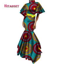 Новинка винтажные африканские платья для женщин длинное платье