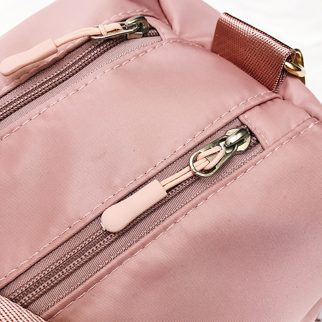 Outdoor Waterproof Nylon Sports Gym Bags Men Women Training Fitness Travel Handbag Yoga Mat Sport Bag