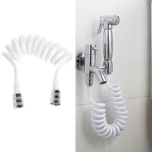 Flexible Shower Hose For Water Plumbing Toilet Bidet Sprayer Telephone Line ABS tube Brass Nut Drop ship