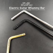 Tremolo-Arm Whammy-Bar-Insert Electric-Guitar Direct-Insertion Part-Diameter Gold Black