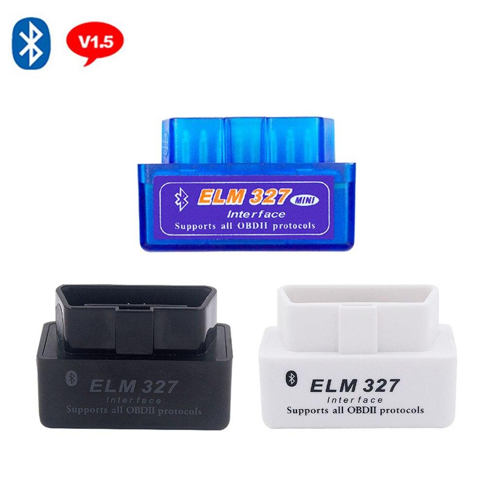 Mini OBD2 Scanner Car Diagnostic Tool For BMW E46 E39 E90 E60 E53 F10 X5 V1.5 ELM327 Interface Bluetooth OBDII Scanner Adapter