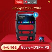 Junsun V1 Android 10 AI Voice Control 4G Carplay DSP autoradio lettore multimediale GPS per Suzuki Jimny 3 2005 - 2019 2din no dvd