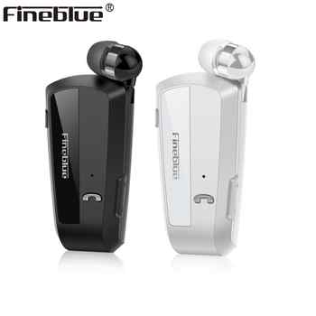 Fineblue F990 Newest Wireless business Bluetooth Headset Sport Driver Earphone Telescopic Clip on stereo earbud Vibration Luxury - DISCOUNT ITEM  46% OFF All Category