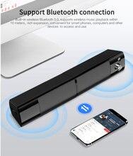 Сабвуфер Surround Soundbar, Bluetooth-динамик, съемные компьютерные колонки, динамики для компьютера, ПК и ноутбука