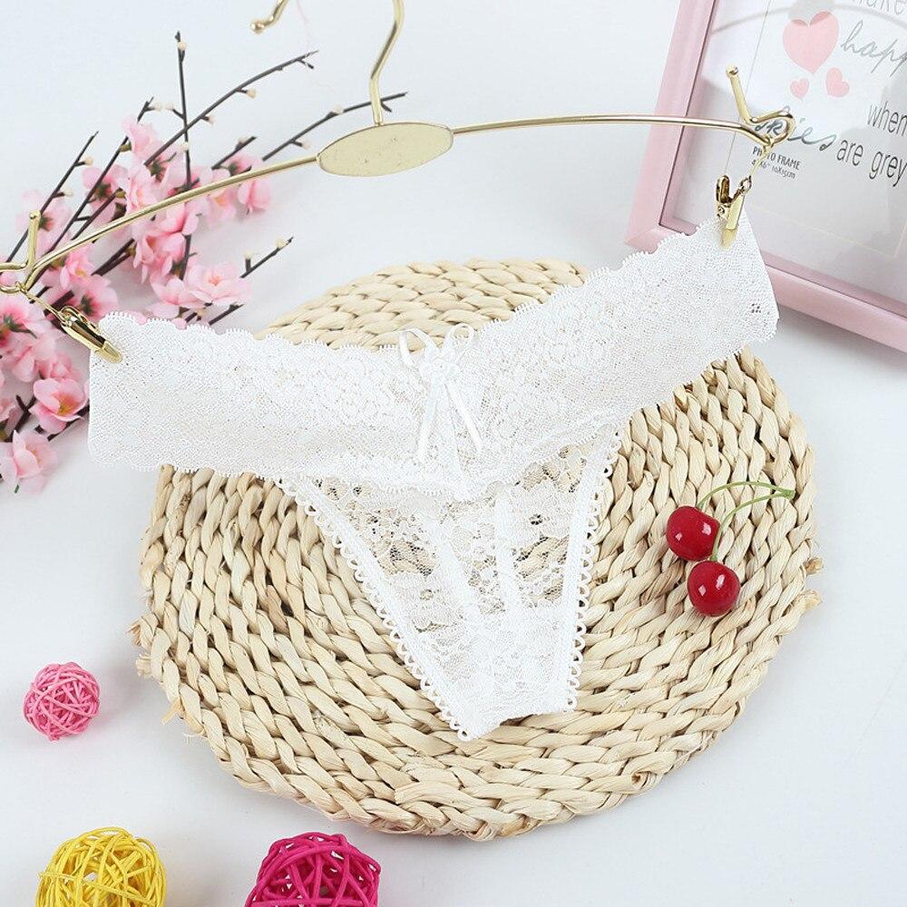 Lace Sexy Women's Lingerie Knickers Ladies Solid Casual G-string Thongs Panties Female Fashion Underwear Briefs majtki bezszwowe