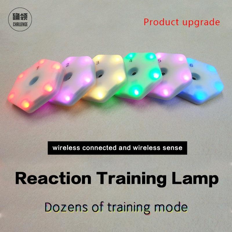 【queling】reaction Training Light Lamp Speed Agility  Response Equipment Basketball Boxing Fitlight Blazepod Siboasi