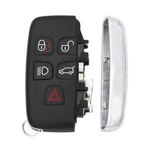 Image 3 - 5 ปุ่ม REMOTE Key SHELL กรณีสมาร์ทรถ Key ฝาครอบ FOB สำหรับ Land Rover LR4 สำหรับ Range Rover Sport evoque ด้วยคำ