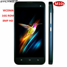 Global version Smartphones 1G RAM+16G ROM cheap celular Android mobile phones WCDMA 2MP+8MP front/back HD camera unlocked M10s(China)