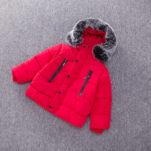 Image 3 - Baby Boys Jacket Fashion Autumn Winter Jacket Coat Kids Warm Thick Hooded Children Outerwear Coat Toddler Boy Girls Clothing