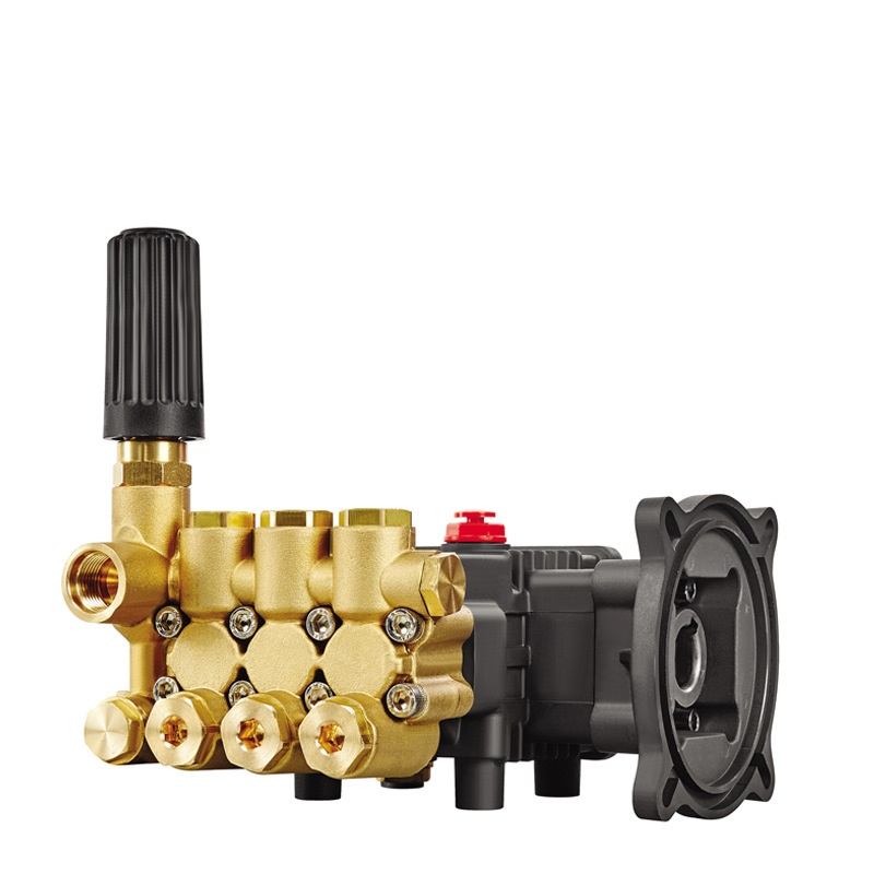 LM Brass Triplex Plunger Pump High Pressure Fogging Misting Pump 2-8LPM 100Bar/1450PSI
