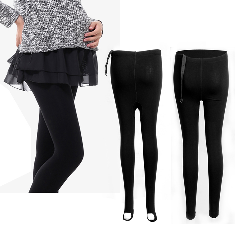 Pregnancy Comfortable Adjustable Thick Maternity Cotton Leggings Pants Warmer
