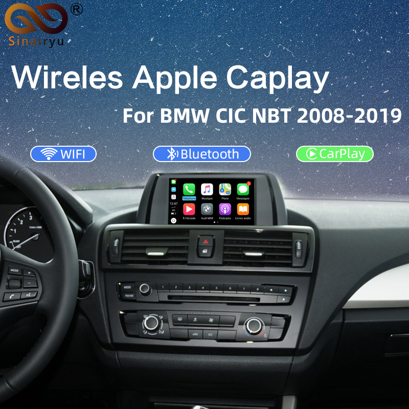 2020 Free Shipping aftermarket Wireless CarPlay Box for All BMW NBT CIC CCC EVO System <font><b>1</b></font> 2 <font><b>3</b></font> 4 <font><b>5</b></font> 7 Series Surpport Rear View CAM image