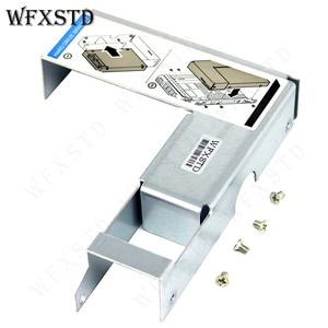 """Image 4 - 56 قطعة جديد 3.5 """"إلى 2.5"""" HDD قوس علبة العلبة لديل R420 R430 R510 R520 T620 R710 R720 R730 09W8C4 تحويل محول المسمار"""