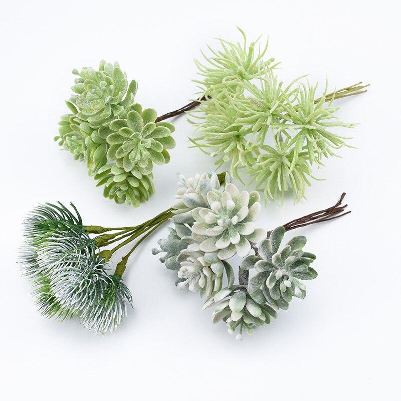 6 pieces artificial plants cheap Festival Supplies artificial plants for wedding decoration christmas decorative flowers wreaths