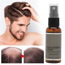 Рост бороды травяной экстракт для роста волос спрей от выпадения волос лечение жидкий инструмент для ухода за волосами 30 мл Продукты для волос