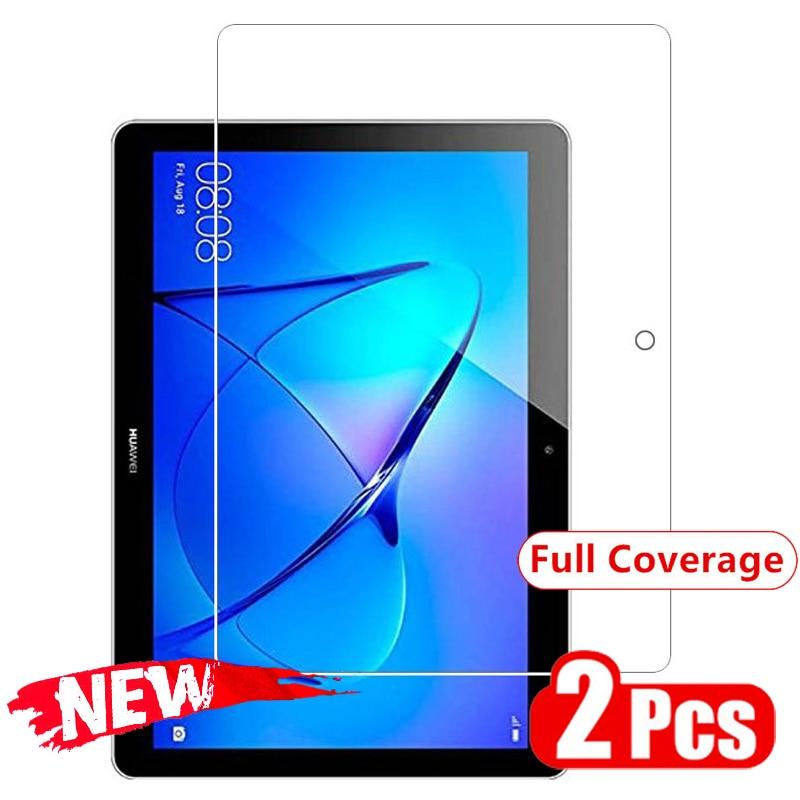 Uds Protector de pantalla de vidrio templado para Huawei MediaPad MatePad T8 8,0 T3 8,0 T3 3G 7,0 WIFI 8,0 T2 7,0 Pro 8,0 Proective película