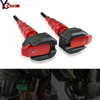 With BENELI LOGO CNC New Motorcycle Frame Crash Pads Engine Case Sliders Protector Red/Black/Glod Fit For Benelli bn 600 bn300