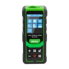 Noyafa NF-274L Green Laser Distance Meter 60M 80M 100M Rangefinder Laser Tape Range Finder Electronic Level Test Instrument