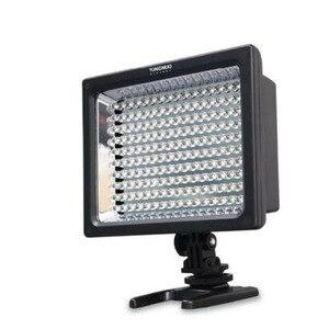 Image 3 - Frete grátis yn160 YN 160 160led luz de vídeo com filtros para canon nikon câmera/filmadora, luz led iluminação fotográfica