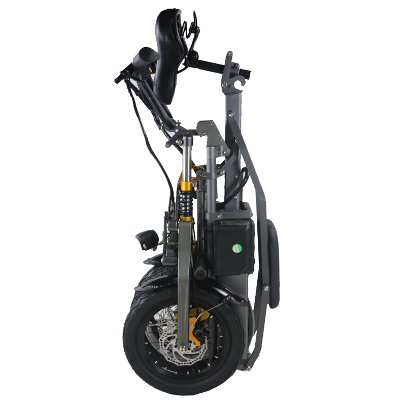 JX003 Chinese 48V 350W folding scooter electric tricycle 6