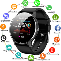 LIGE-reloj inteligente deportivo para hombre y mujer, nuevo accesorio de pulsera resistente al agua con seguimiento de actividad en tiempo Real, control del ritmo cardíaco, compatible con Android IOS, 2021