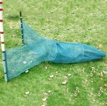 Lawaia pequena rede de pesca gaiola de peixes armadilha de caranguejo rede de arrasto lagosta gaiolas de peixe 1m comprimento da cauda ferramentas de pesca e equipamentos