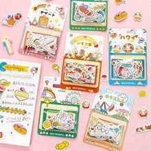 Mohamm 40 шт. упаковка милые наклейки из мультфильмов забавные наклейки хлопья декоративные стационарные Скрапбукинг подарок для девочек школьные принадлежности