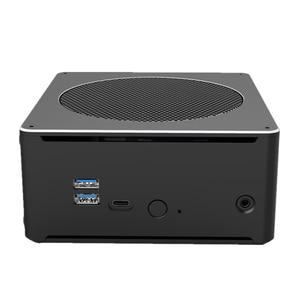 Image 5 - Мини ПК 8 го поколения Intel Core i7 8850H 8750H 6 ядер 12 потоков 32 Гб DDR4 2 * M.2 SSD i5 8300H UHD Graphics 630 Mini DP WiFi