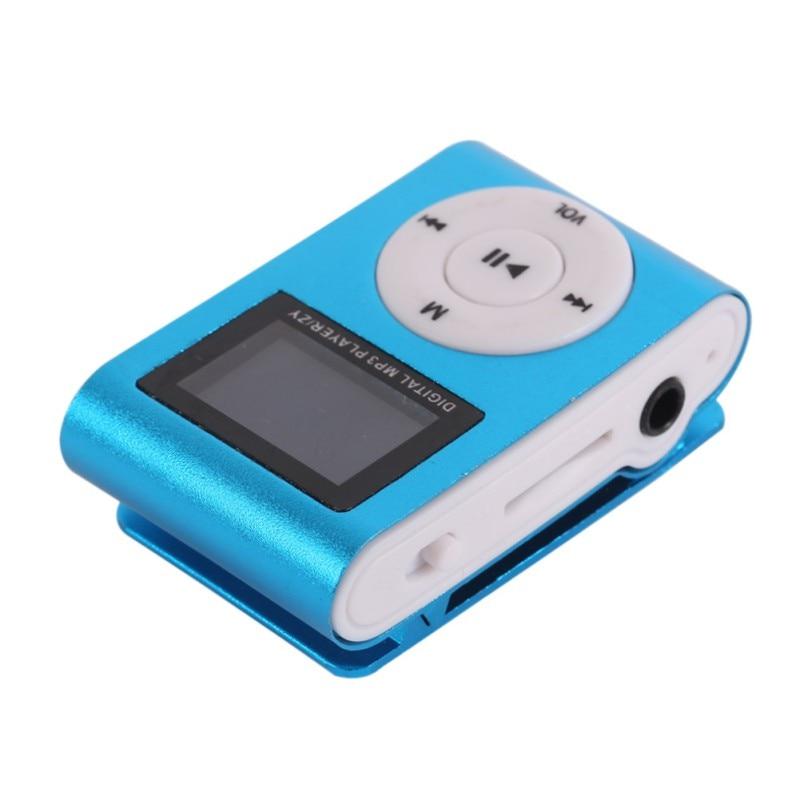 Stylish Design Sport Mini Mp3 USB Clip MP3 Player LCD Screen Support Micro SD TF Card 5 Colors