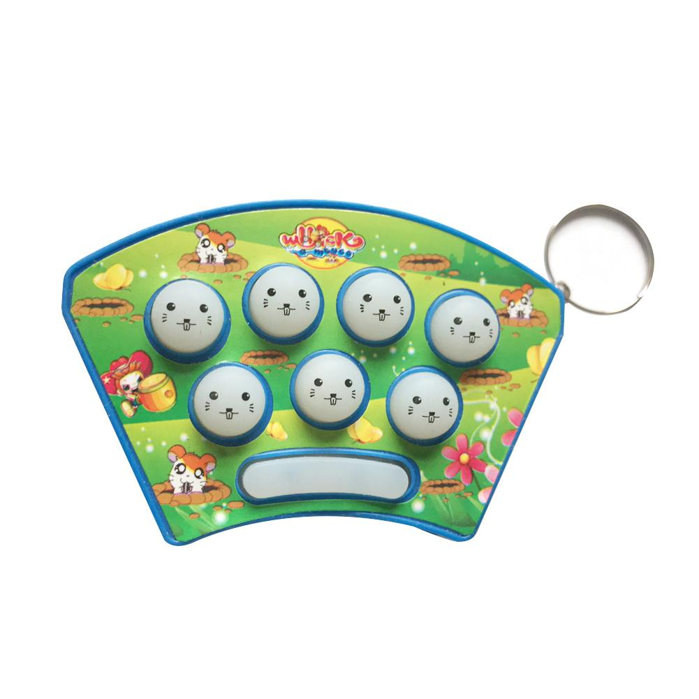 Baby Kids Plastic Music Toys Play Knock Hit Hamster Insect Game Playing Educational Instrumentos Musicais