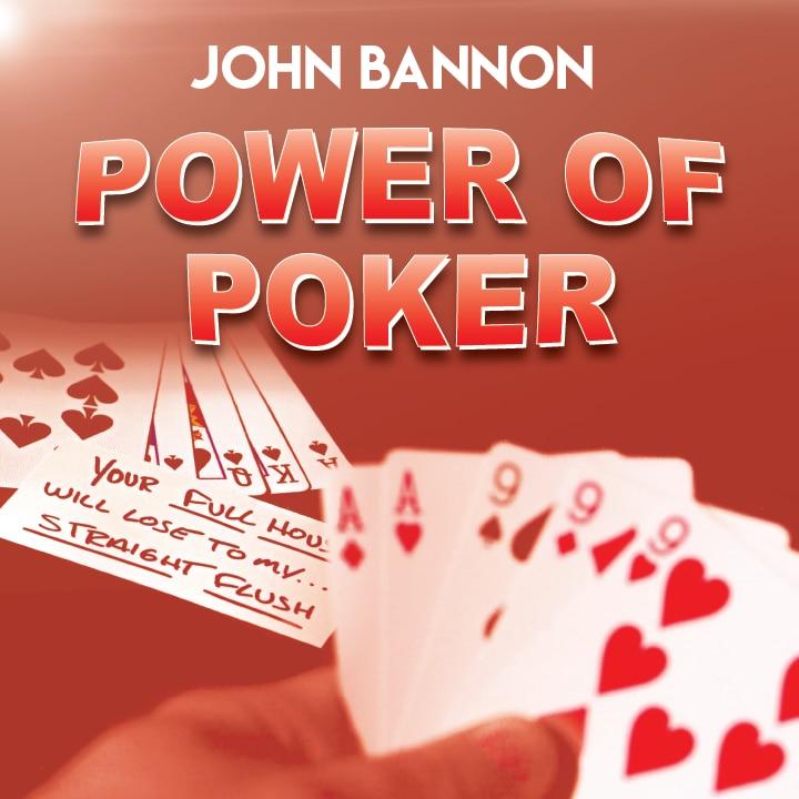 Power Of Poker By John Bannon (Magic Instruction),Magic Trick