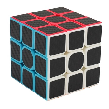 ZCUBE 3x3x3 Carbon Fiber Sticker Magic Cube Puzzle 3x3 Speed Cubo magico Square Gifts Educational Toys for Children - discount item  41% OFF Games And Puzzles