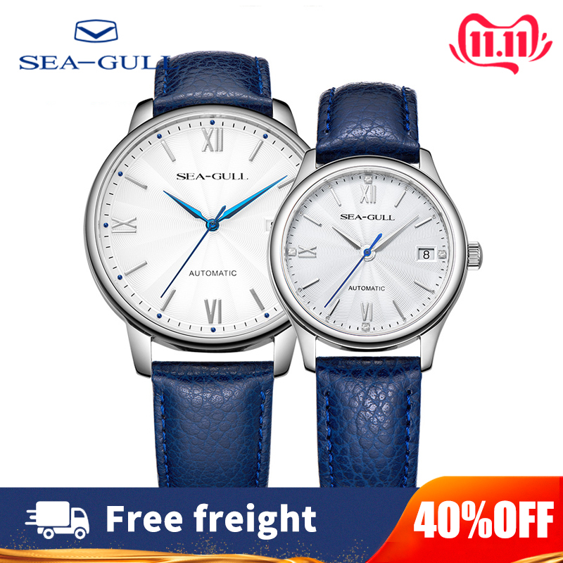 2019 Seagull Male And Female Couple Watches Automatic Mechanical Watch Luxury Brand 42mm Fashion Business Watch 819.17.6084