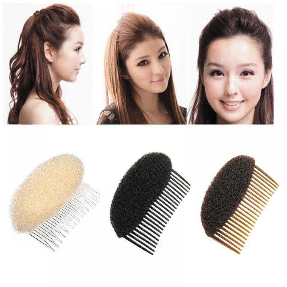 3 Color Combs Women Fashion Women Hair Combs Ornaments Hair Bun Maker Braid DIY Tool Hair Accessories