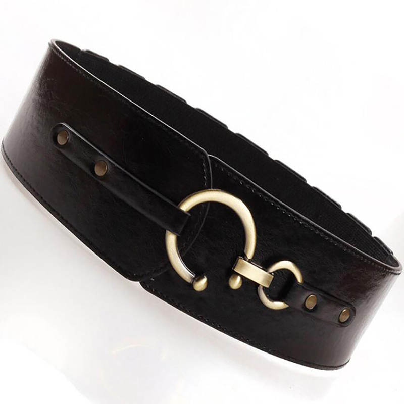 High Quality Belts Women Fashion Decorative Elastic Girdle Hooks Fashion Women Belt Match Skirt Accessories