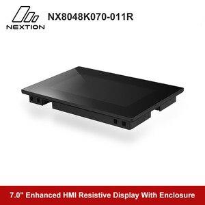 Image 5 - Nextion משופר NX8048K070 011R   7.0 מלא צבע LCD תצוגת HMI מגע Resistive מסך מודול מובנה RTC עם מארז