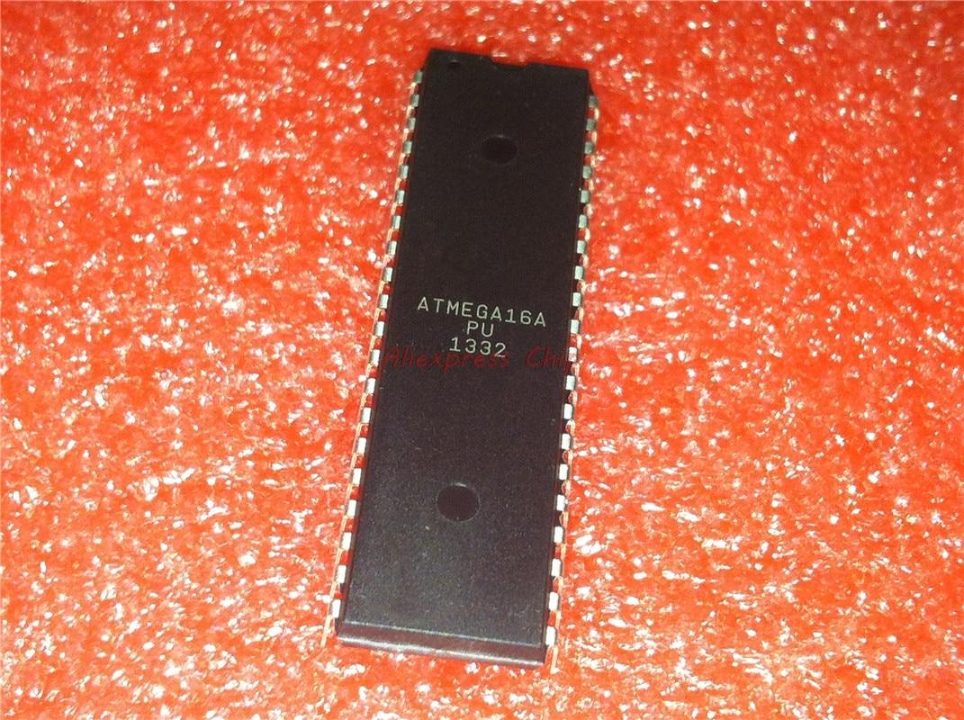 1pcs/lot ATMEGA16A-PU ATMEGA16APU ATMEGA16A ATMEGA16 DIP-40 In Stock