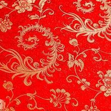 Brocade Sewing Imitation Silk Fabrics Flower Fabric for Needlework Satin Material for DIY Dress/Bag