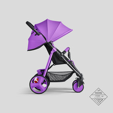 Baby Stroller High View Baby Can Sit and
