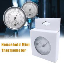 57mm Wall Mounted Household Barometer Thermometer Hygrometer Weather Station Hanging For Refrigerator Temperature Monitoring