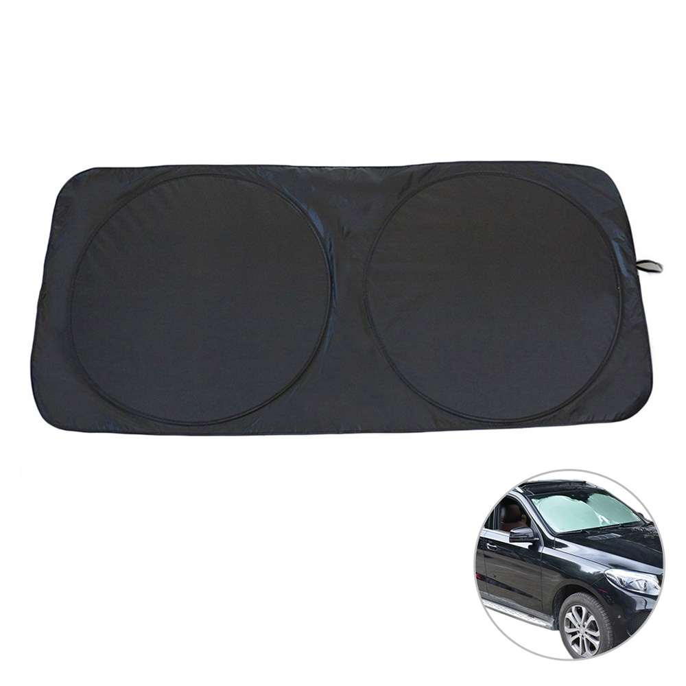 150 x 70cm Car Sunshade Sun Shade Windshield Front Rear Window Film Visor Cover UV Protection Reflector Car styling Protector in Windshield Sunshades from Automobiles Motorcycles