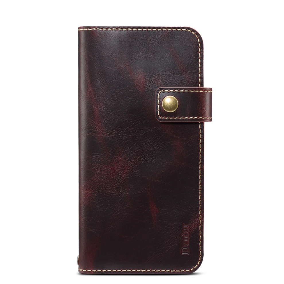 Premium Leather Magnet Button Flip Strap Case for iPhone 11/11 Pro/11 Pro Max 54