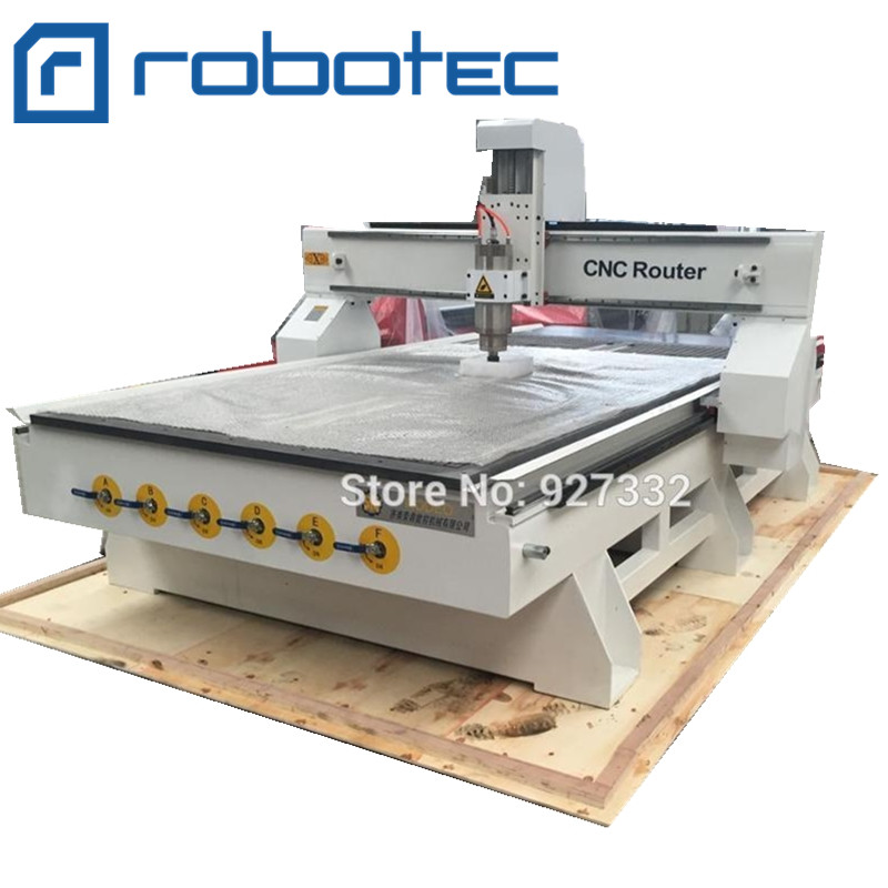 3 Axis 4 Axis Water Cooling Wood Cnc Router 1325 / 4 X 8 Ft Furniture Carving Making Machine Hot Sale
