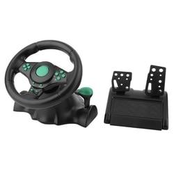 JABS Racing kierownica do gier na Xbox 360 Ps2 na Ps3 komputer Usb kierownica samochodowa 180 stopni obrót wibracji z Peda
