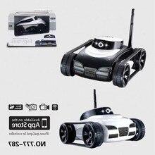 Радиоуправляемый Танк I-Spy tank 777-287, МП камера, WiFi, IOS, Android, робот-телефон, управляемая светодиодная машина, радиоуправляемый робот, боевые танки, приложение, игрушка с дистанционным управлением