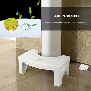 Image 5 - Foldable Squatting Stool Non slip Toilet Footstool Anti Constipation Stools Bathroom Toilet Stool Foot Rest Holder Footstool