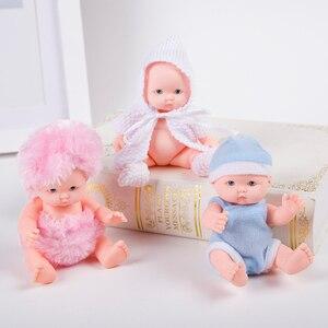 Image 3 - Lol lalki zabawki dla dziewczynek reborn silikonowe Reborn lalki wykonane, aby przenieść lalki dziecko prawdziwe noworodka montaż lalki 3D oczy piłki